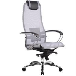 Эргономическое офисное кресло Metta SAMURAI S-1.03 (Цвет обивки:Серый, Цвет каркаса:Серебро) - фото 25911