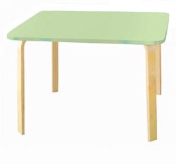 Детский столик Polli Tolli Мордочки салатовый (Цвет столешницы:Салатовый, Цвет ножек стола:Береза) - фото 26052