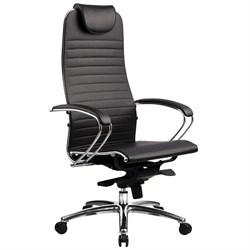 Эргономическое офисное кресло Metta SAMURAI K-1.03 (Цвет обивки:Коричневый, Цвет каркаса:Серебро) - фото 26131
