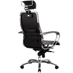 Эргономическое офисное кресло Metta SAMURAI K-2.03 (Цвет обивки:Белый лебедь, Цвет каркаса:Серебро) - фото 26146