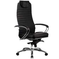 Эргономическое офисное кресло Metta SAMURAI KL-1.03 (Цвет обивки:Черный, Цвет каркаса:Серебро) - фото 26157
