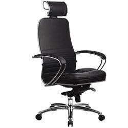 Эргономическое офисное кресло Metta SAMURAI KL-2.03 (Цвет обивки:Черный, Цвет каркаса:Серебро) - фото 26181