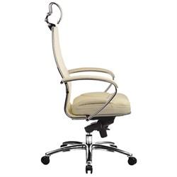 Эргономическое офисное кресло Metta SAMURAI KL-2.03 (Цвет обивки:Белый лебедь, Цвет каркаса:Серебро) - фото 26186