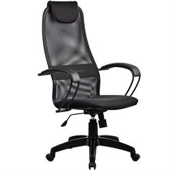 Офисное кресло Metta BP-8 (Цвет обивки:Черный, Цвет каркаса:Черный) - фото 26304