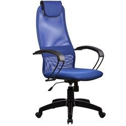 Офисное кресло Metta BP-8 (Цвет обивки:Синий, Цвет каркаса:Черный) - фото 26309