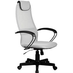 Офисное кресло Metta BP-8 (Цвет обивки:Светло - серый, Цвет каркаса:Черный) - фото 26323