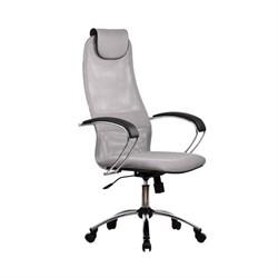 Офисное кресло Metta BK-8 (Цвет обивки:Светло - серый, Цвет каркаса:Серебро) - фото 26328
