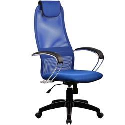 Офисное кресло Metta BK-8 (Цвет обивки:Синий, Цвет каркаса:Черный) - фото 26347