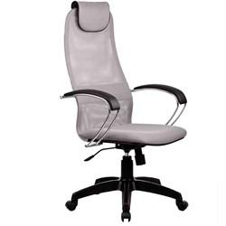 Офисное кресло Metta BK-8 (Цвет обивки:Светло - серый, Цвет каркаса:Черный) - фото 26363
