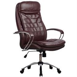 Офисное кресло Metta LK-3 (Цвет обивки:Темно бордовый) - фото 26495