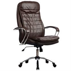 Офисное кресло Metta LK-3 (Цвет обивки:Коричневый) - фото 26499