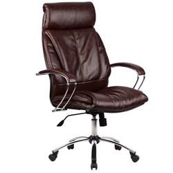Офисное кресло Metta LK-13 (Цвет обивки:Коричневый) - фото 26544