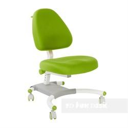 Подростковое кресло для дома FunDesk Ottimo (Цвет обивки:Зеленый, Цвет каркаса:Белый) - фото 26594