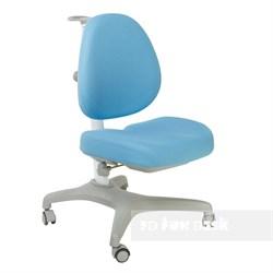 Подростковое кресло для дома FunDesk Bello I (Цвет обивки:Голубой, Цвет каркаса:Серый) - фото 26672