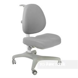 Подростковое кресло для дома FunDesk Bello I (Цвет обивки:Серый, Цвет каркаса:Серый) - фото 26685