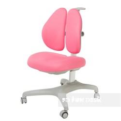 Подростковое кресло для дома FunDesk Bello II (Цвет обивки:Розовый, Цвет каркаса:Серый) - фото 26700