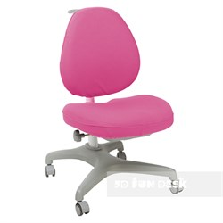 Чехол для кресла FunDesk Bello I (Цвет товара:Розовый) - фото 26717