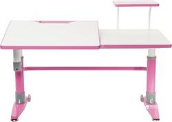 Парта-трансформер для школьника FunDesk Ballare с полкой (Розовый) - фото 26809