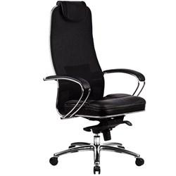 Эргономическое офисное кресло Metta SAMURAI SL-1.03 Black Plus (Цвет обивки:Черный плюс, Цвет каркаса:Серебро) - фото 26861