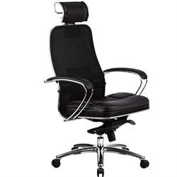 Эргономическое офисное кресло Metta SAMURAI SL-2.03 Black Plus (Цвет обивки:Черный плюс, Цвет каркаса:Серебро) - фото 26863