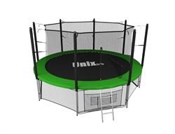 Батут UNIX line inside (305 см / 10 ft) (Цвет каркаса:Зеленый) - фото 27036