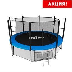 Батут UNIX line inside (366 см / 12 ft) (Цвет каркаса:Синий) - фото 27098