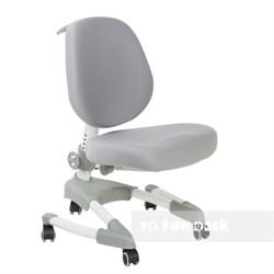Подростковое кресло для дома FunDesk Buono (Цвет обивки:Серый, Цвет каркаса:Серый) - фото 27396