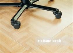 Защитное напольное покрытие FunDesk SS20-TR (Цвет товара:Полупрозрачная) - фото 27434