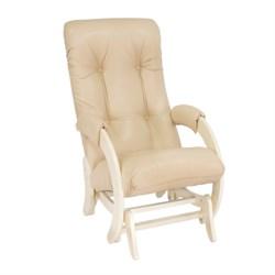 Кресло для кормления Milli Smile (Цвет обивки:Polaris Beige, Цвет каркаса:Дуб шампань, Материал спинки, сиденья:Искусственная кожа) - фото 27770