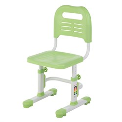 Детский стул FunDesk SST3L (Цвет каркаса:Белый, Цвет товара:Зеленый) - фото 28282