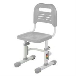 Детский стул FunDesk SST3L (Цвет каркаса:Белый, Цвет товара:Серый) - фото 28292