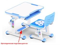 Комплект парта и стульчик Mealux BD-08 Teddy (Белый, Синий) - фото 28510