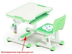 Комплект парта и стульчик Mealux BD-08 Teddy (Белый, Зеленый) - фото 28527