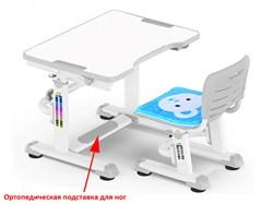 Комплект парта и стульчик Mealux BD-09 Teddy (Белый, Серый) - фото 28552