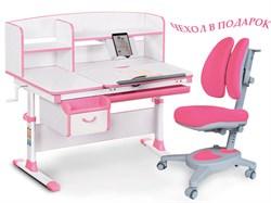 Комплект парта и кресло Mealux EVO-50 (Y-115) (Белый, Розовый) - фото 28665