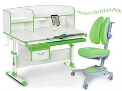 Комплект парта и кресло Mealux EVO-50 (Y-115) (Белый, Зеленый) - фото 28666