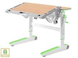 Детский стол Mealux ErgoWood L (Клен, Зеленый) - фото 28759