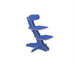 Растущий детский стул Kandle Ergosmart (Цвет сиденья и спинки стула:Синий (0011), Цвет каркаса:Синий (0011)) - фото 28858