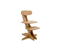 Растущий детский стул Kandle Ergosmart (Цвет сиденья и спинки стула:Бук, Цвет каркаса:Бук) - фото 28870