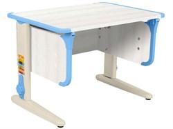 Парта ДЭМИ СУТ-41 75Х55 см (Цвет столешницы:Рамух белый, Цвет ножек стола:Бежевый, Цвет кромки:Ниагара) - фото 28946