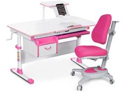 Комплект парта и кресло Mealux EVO-40 (Y-110) (Белый, Розовый) - фото 28993