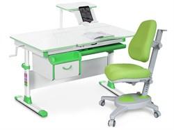 Комплект парта и кресло Mealux EVO-40 (Y-110) (Белый, Зеленый) - фото 28996