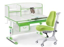 Комплект парта и кресло Mealux EVO-50 (Y-528) (Белый, Зеленый) - фото 29032