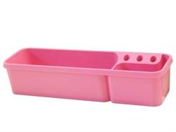 Пенал-контейнер навесной Rifforma (Цвет товара:Розовый) - фото 30599