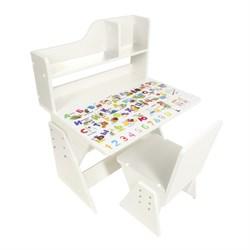 """Детская растущая парта и стул Я САМ """"Первое место"""" (Белый) - фото 32421"""