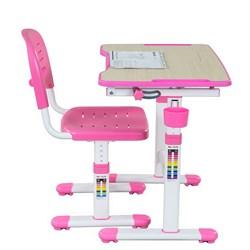 Парта для малышей и стул FunDesk Piccolino II (Розовый) - фото 32442