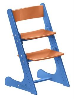 Детский растущий стул Конёк Горбунёк (Сине-оранжевый) - фото 32867