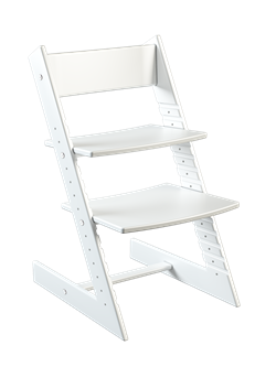 Детский растущий стул из бука Премиум Конёк Горбунёк (Белый бук) - фото 32895