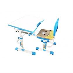 Комплект растущая парта и стул с чехлом Rifforma SET-10 (Голубой) - фото 33029