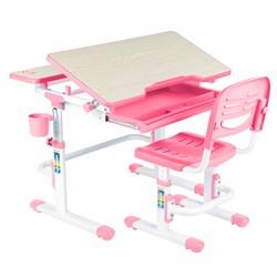 Комплект парта и стул FunDesk Lavoro (Розовый) - фото 34842
